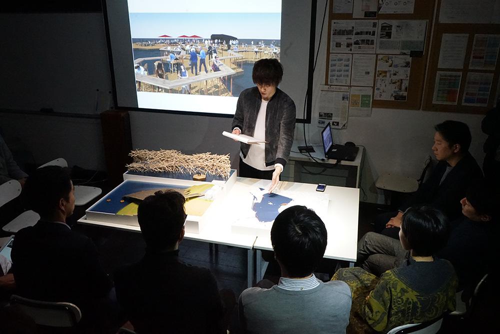 建築学校 授業風景