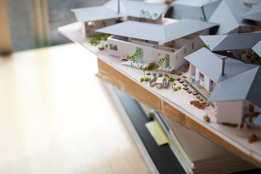 建築模型 学生