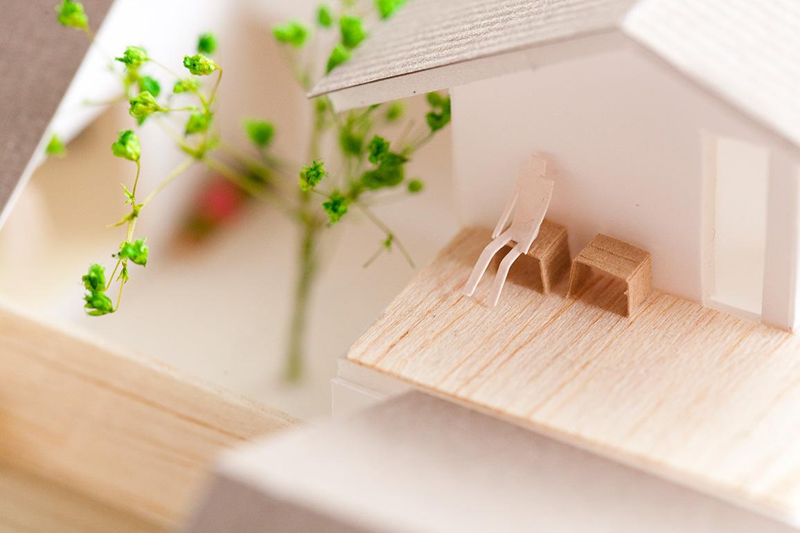 学生 建築模型