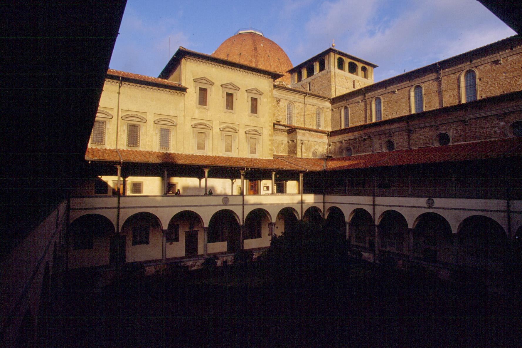 サン・ロレンツォ教会 ラウレンツィアーナ図書館