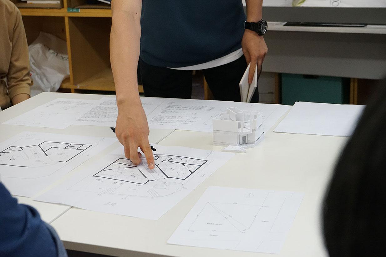建築学校 設計作品発表