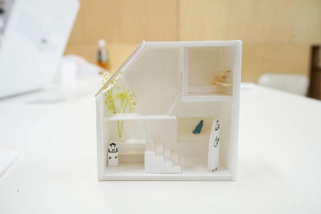 設計課題 建築模型