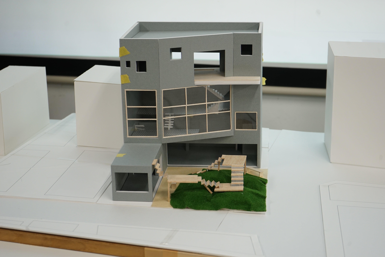 シェアハウス 模型