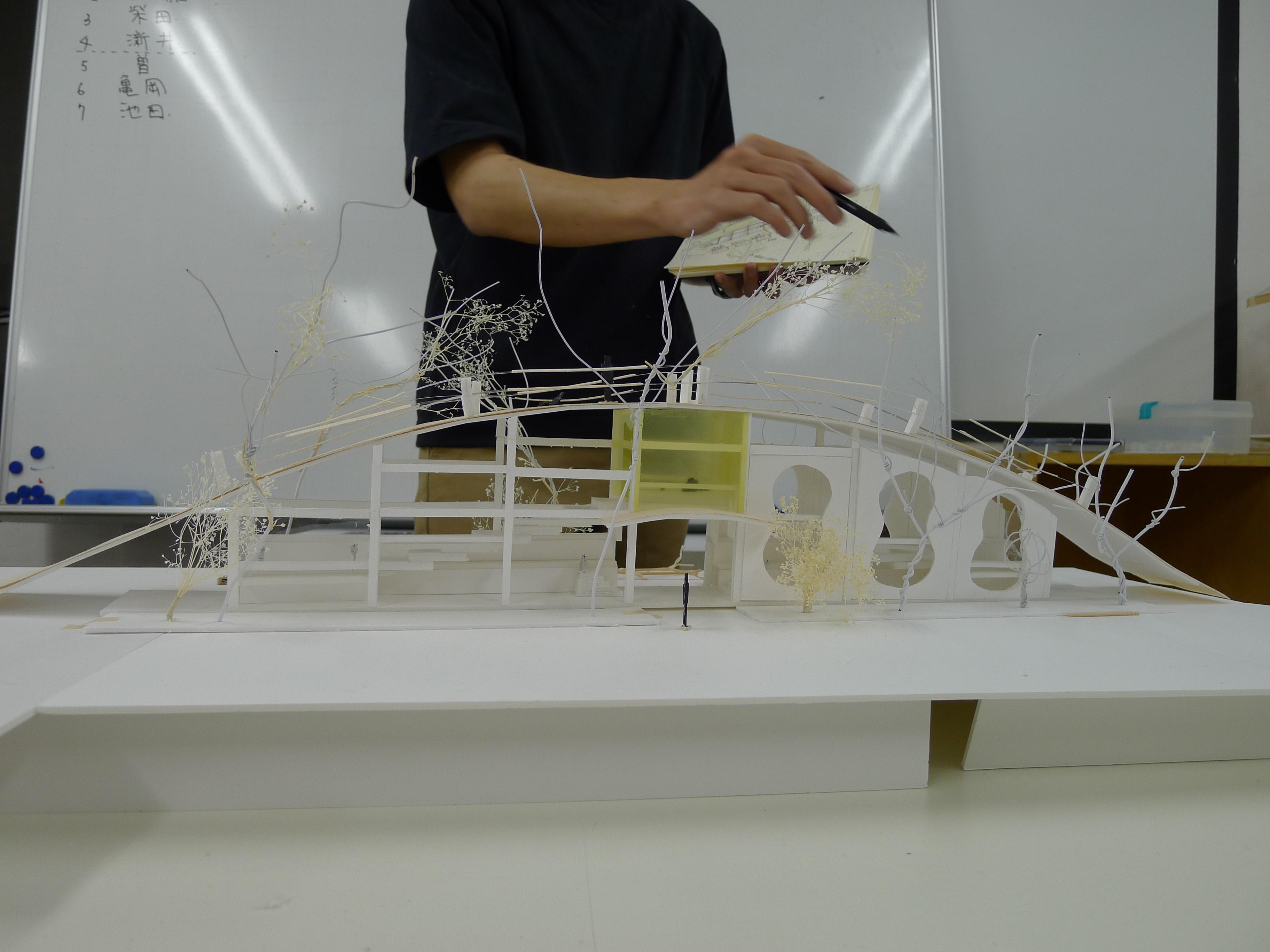 0課題 建築模型