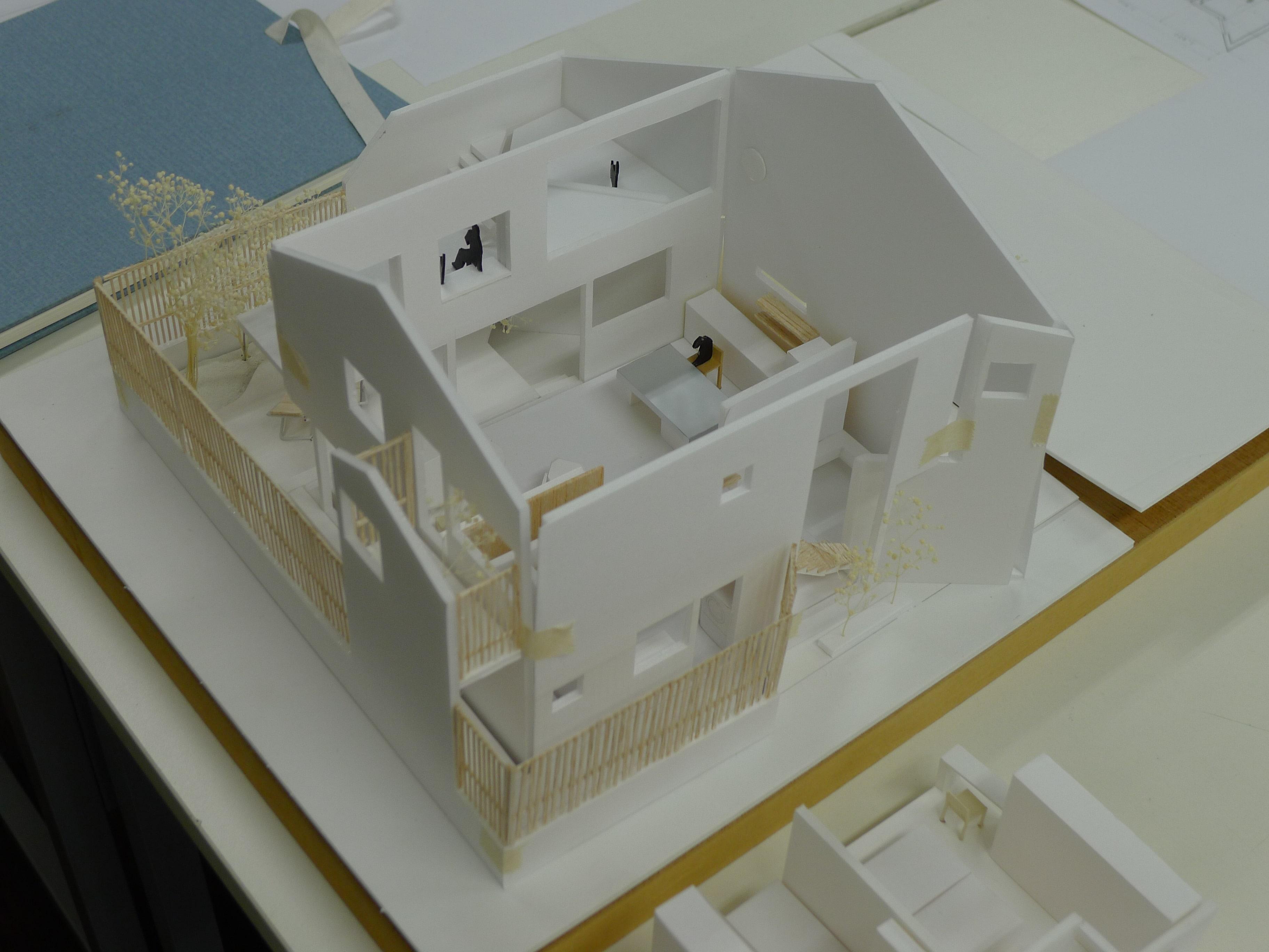 甘栗太郎邸 模型